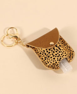 Hand Sanitizer Holder Keychain