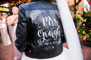 Custom Jacket Lettering ONLY