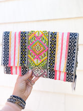 Load image into Gallery viewer, Beaded Tribal Clutch