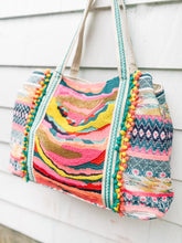Load image into Gallery viewer, Beaded Tote Bag
