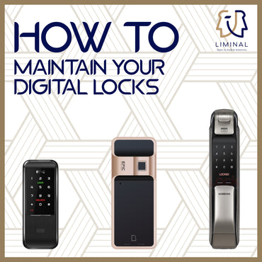How To Maintain Your Digital Locks