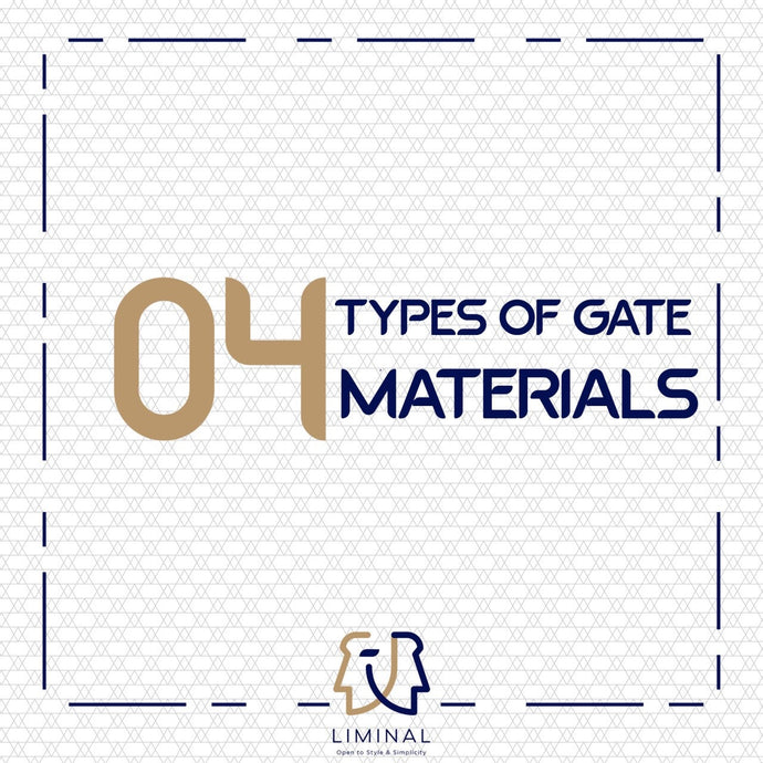 4 Types of HDB Gate Materials