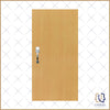 Beech Woodgrain Laminate Main Door