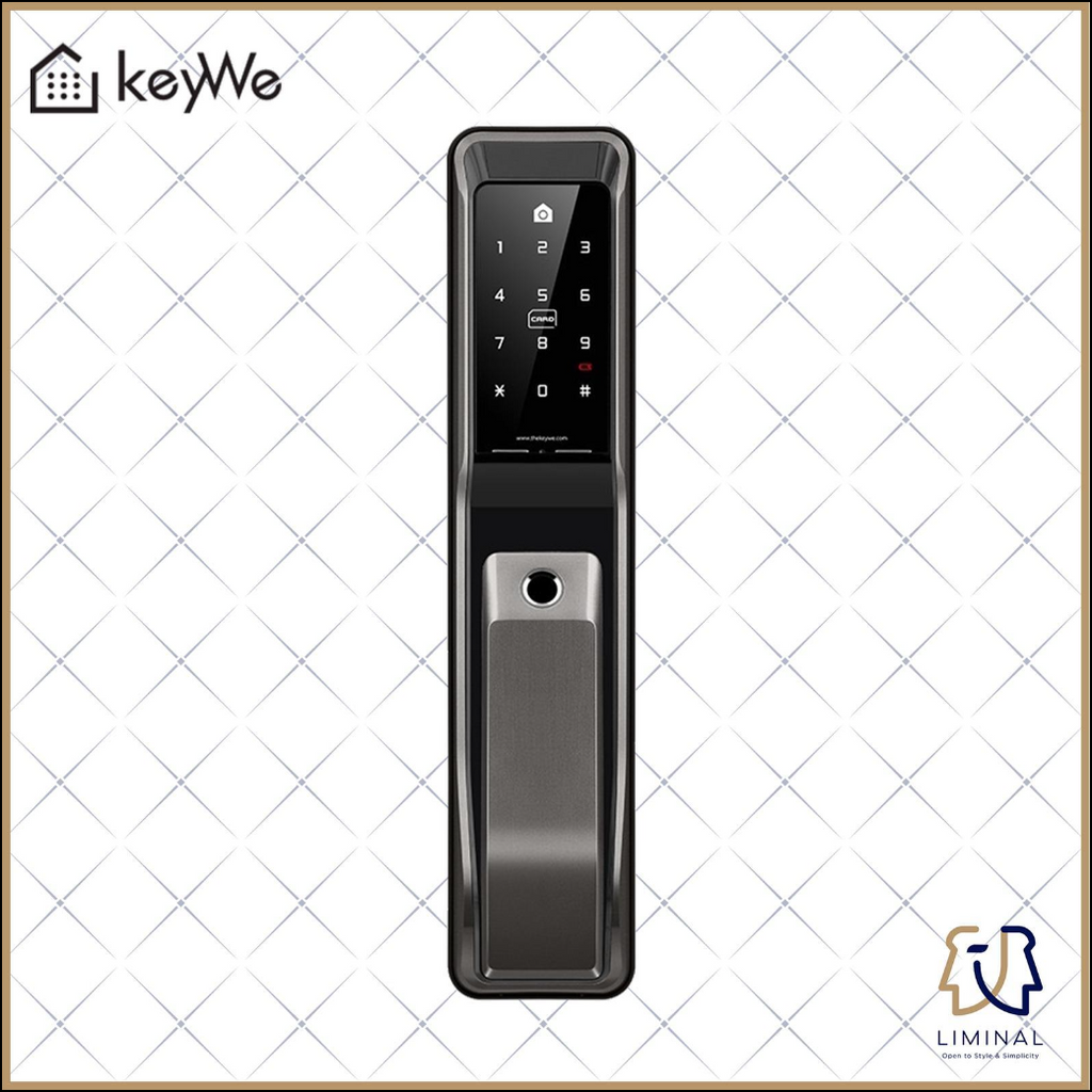 Keywe 360 Push Pull Digital Lock For Doors