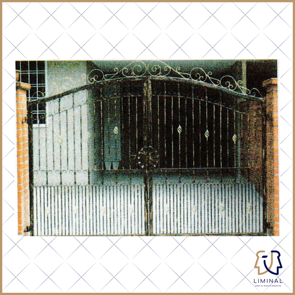 Wrought Iron Landed Gate