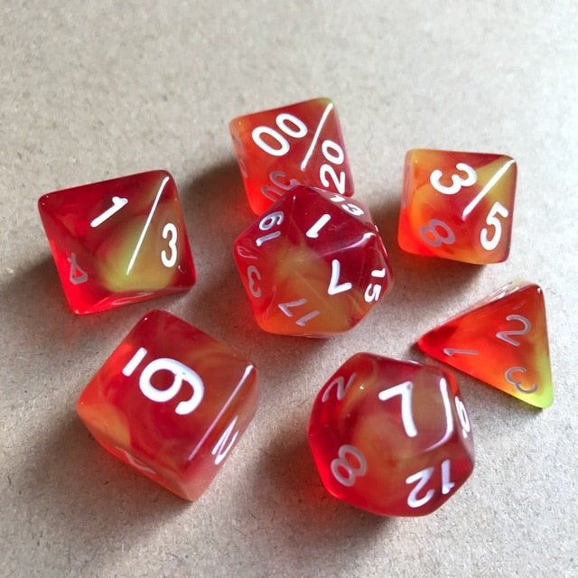 Translucent Dice Sets