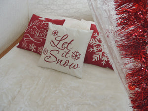 CHRISTMAS Sleepover Theme LET IT SNOW - myprettyfiesta