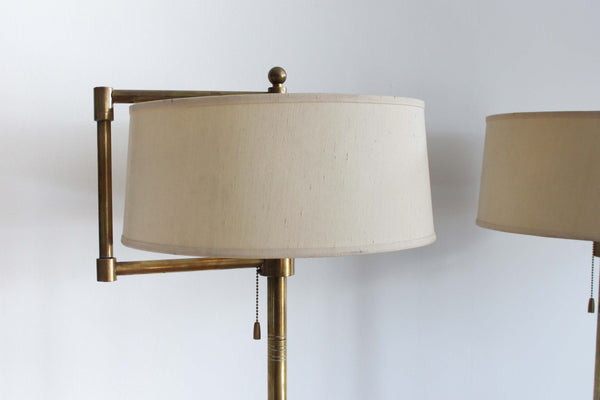 Brass Floor Lamps from the Hotel Vancouver