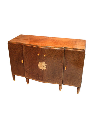 Widdicomb Inlaid Burled Maple Bureau