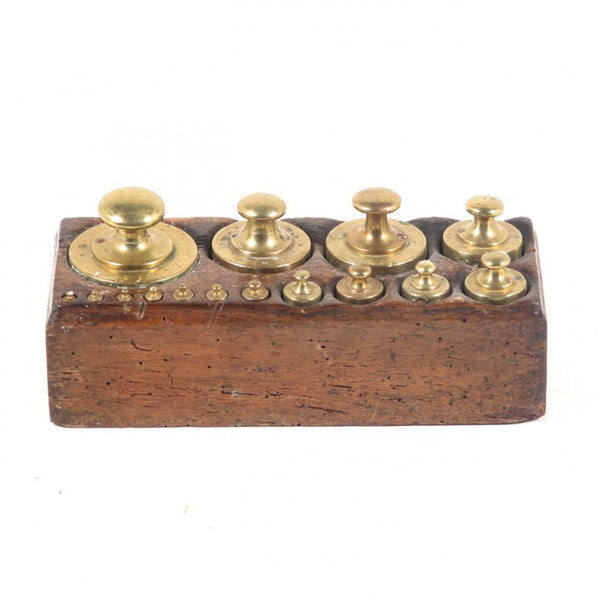 Original Brass Apothecary Weights