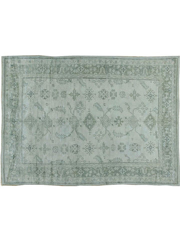 Turkish Oushak Rug Green