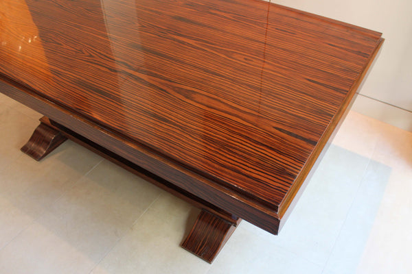 Art Deco Rosewood Dining Table