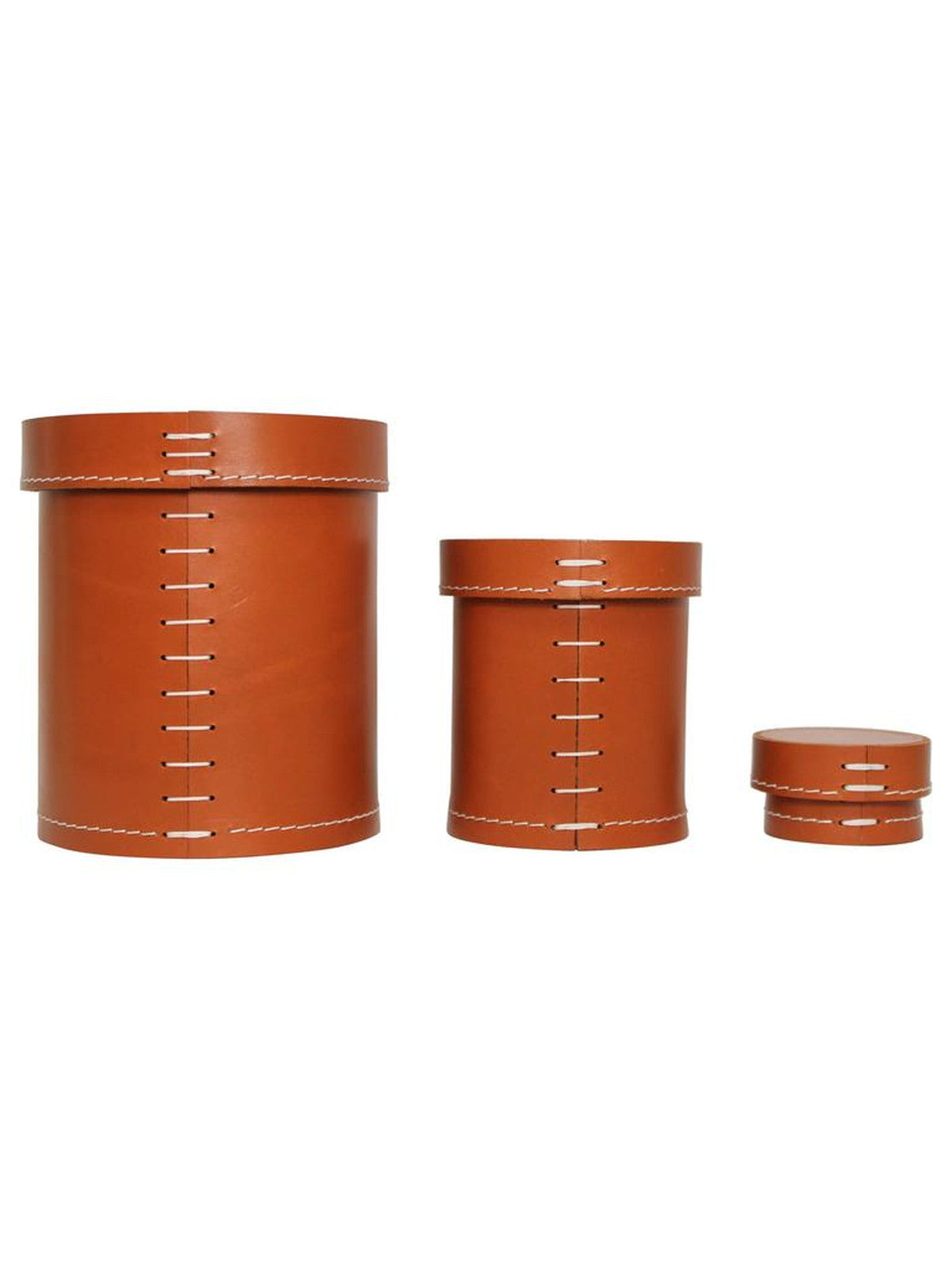 Arte and Cuoio Leather Vessels