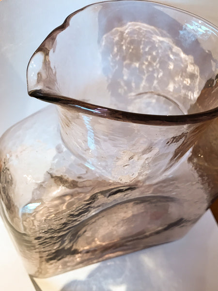 Blenko Glass Pitcher