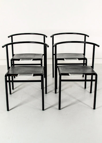 Café Chairs Philippe Starck Set of Four