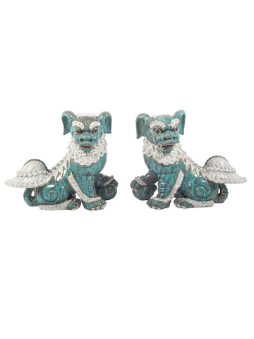 Porcelain Foo Dogs