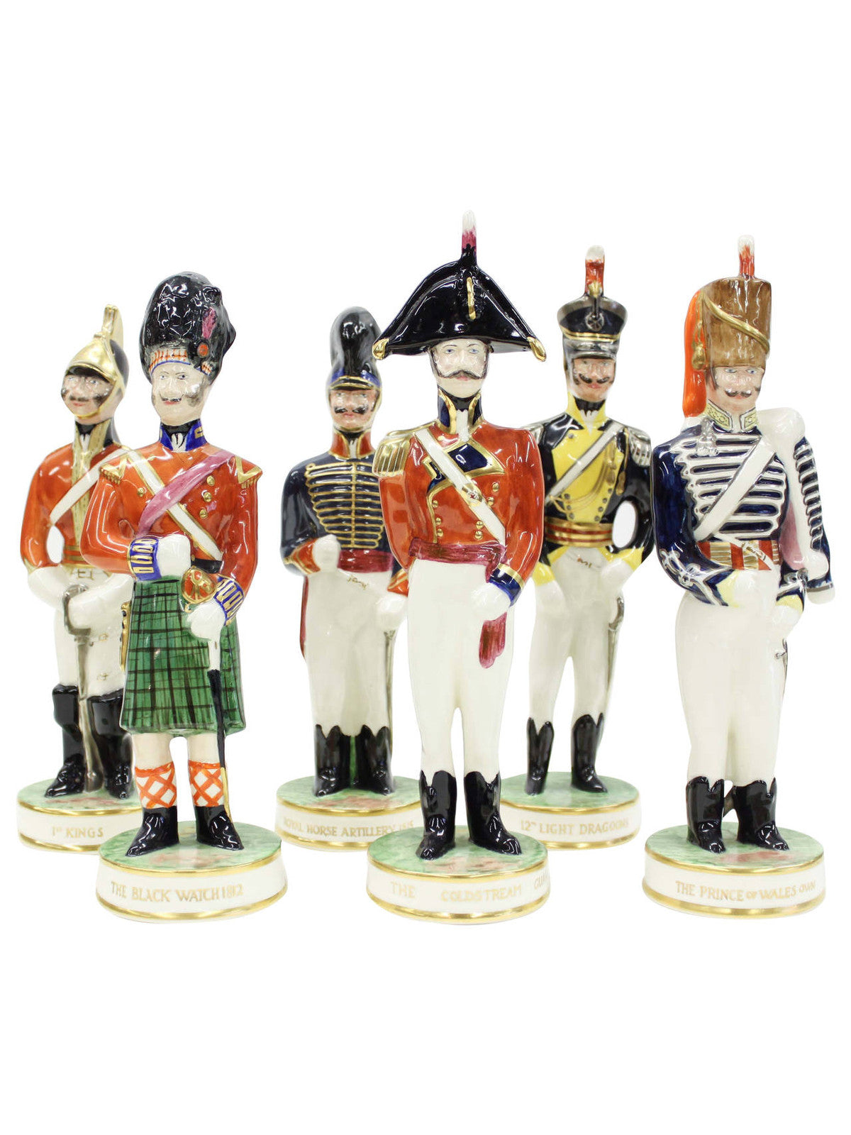 Clarice Cliff English Regimental Soldiers, Set of Six