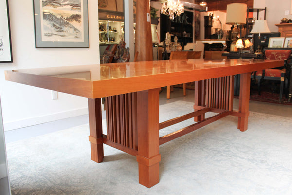 "Frank Lloyd Wright for Cassina ""Taliesin 2"" Dining Table"