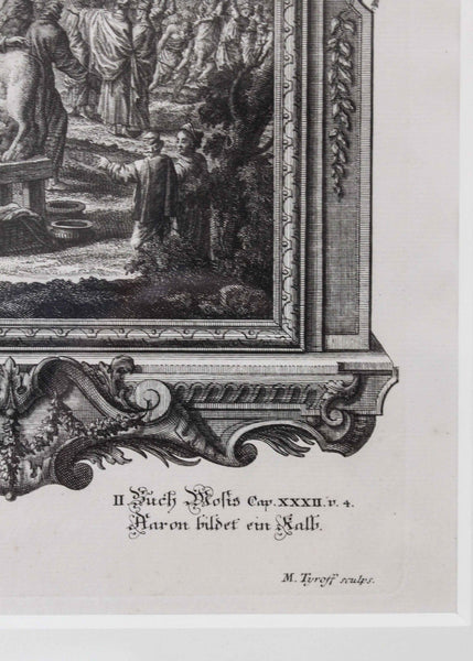 Original Drawings and First Impression Engravings - Fussli & Preissler
