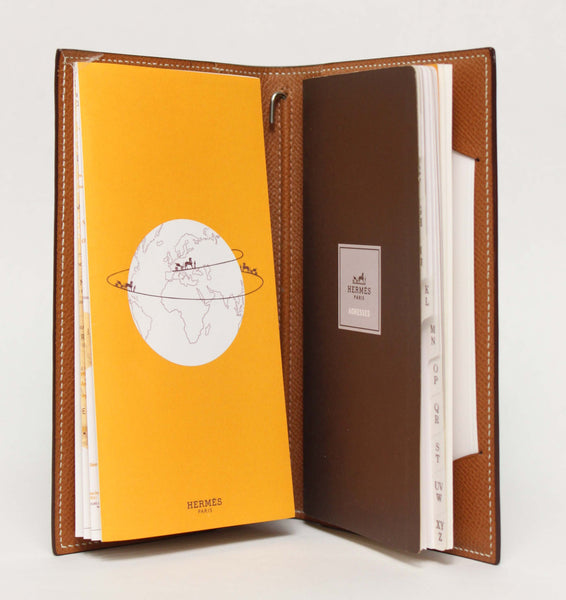 Hermès Epsom Leather Address Book