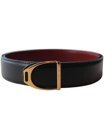 Hermès Belt with Gold Buckle