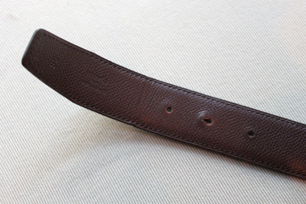 Hermes Gold H Belt