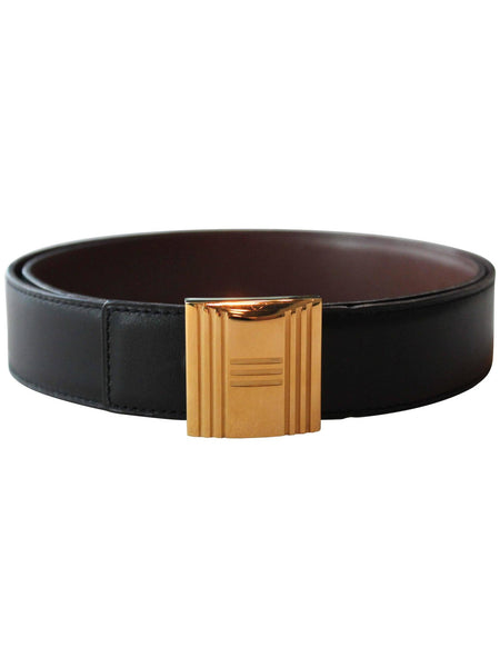 Hermès Gold H Belt