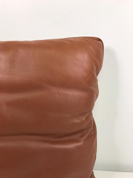 Hermes Leather Pillow