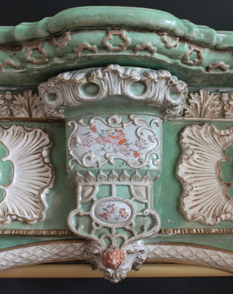 Mason's Ironstone Chimneypiece Lion