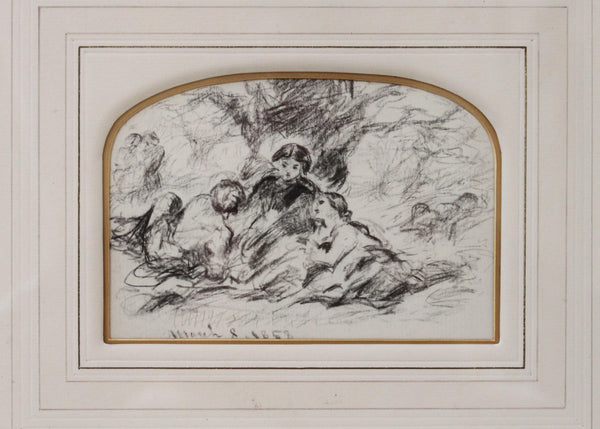 Holy Family & Three Reclining Figures - John Callcott Horsley, R.A.