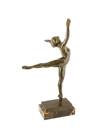 La Danseuse Nattova Bronze by Sergei Yourievitch