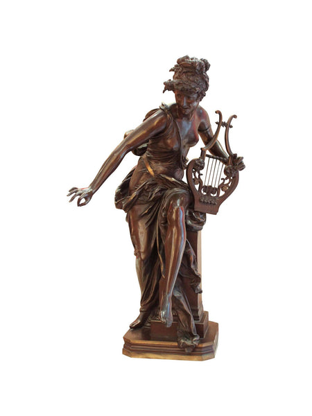 Le Melodie Bronze by Albert Ernest Carrier-Belleuse