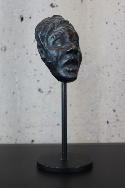 """Facés"" Surprised Mask by Lynn Falconer"