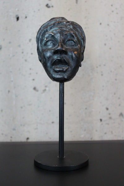 Bronze Mask by Lynn Falconer