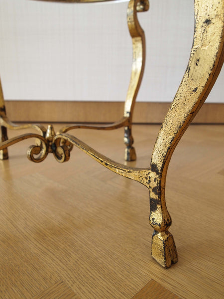 Gilt Side Table Attributed to Maison Ramsay