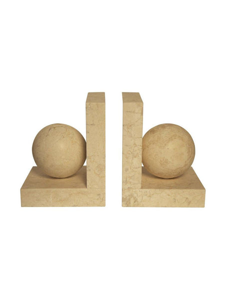 Solid Marble Bookends