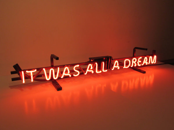 """I Used to Read Word Up! Magazine"" Neon Sign by Mega McGrath"