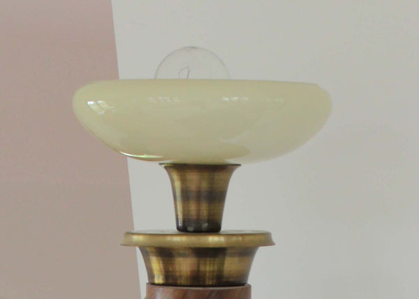 Mid-Century Torchiere Sconces