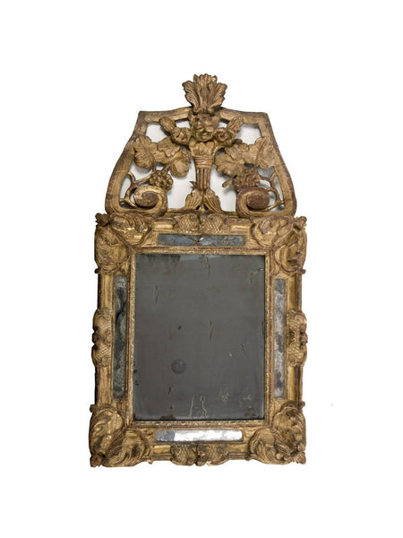 Period Louis XV Gilt Wood Mirror