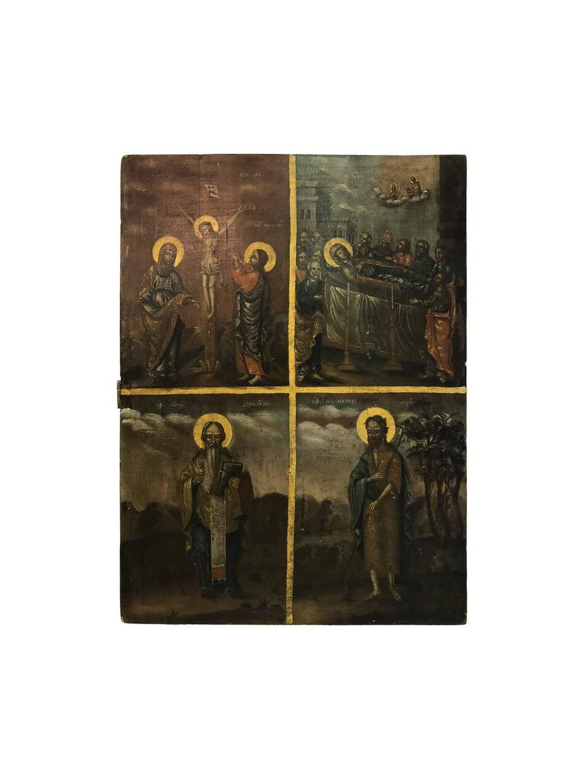 Russian Painting of Four Icons