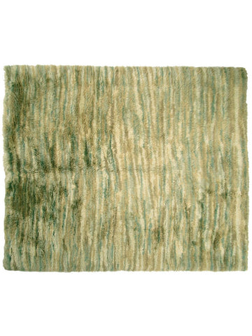 Turkish Green Shag Rug