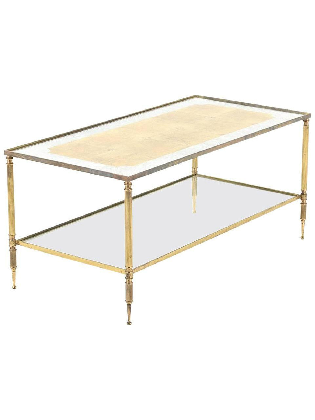 Jansen Coffee Table Vintage Coffee Table In The Style Of Maison Jansen The Edit