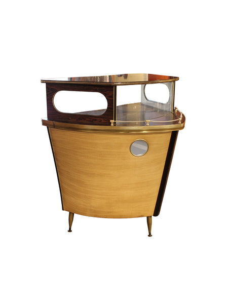 Vintage Continental Boat Bar