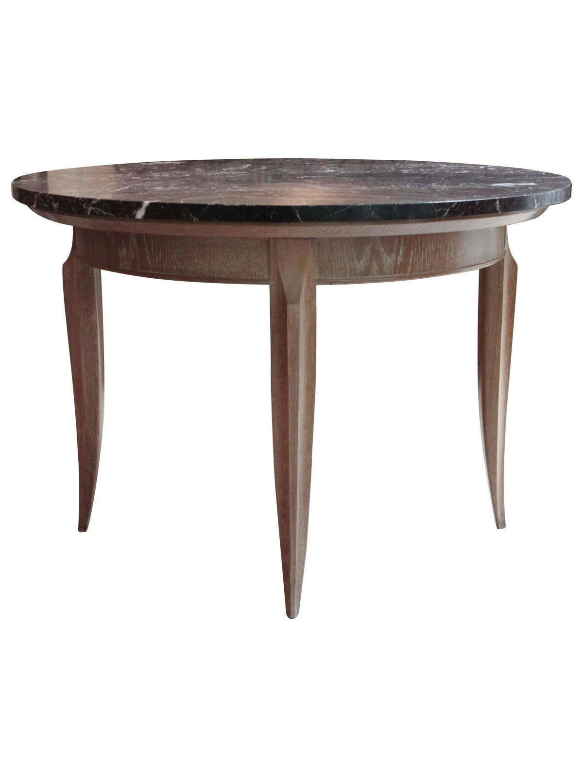 White Oak and Marble Centre Table