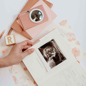 Load image into Gallery viewer, Pregnancy & Baby Journal, Gift-boxed · Petal - Revel