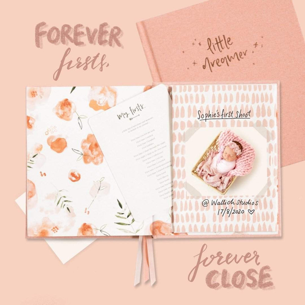 Pregnancy & Baby Journal, Gift-boxed · Petal - Revel