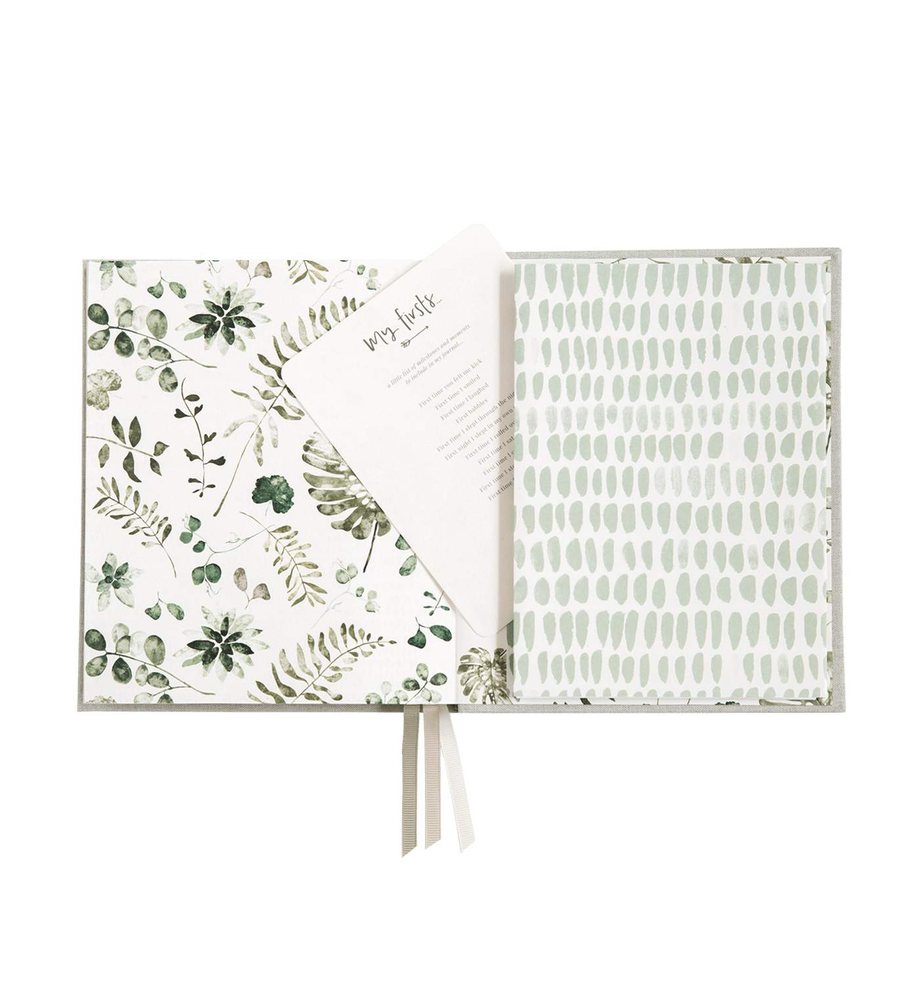 Pregnancy & Baby Journal, Gift-boxed · Sage - Revel