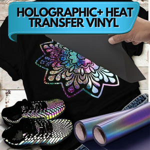 [PROMO 30% OFF] HoloGRAPHIC+ Heat Transfer Vinyl