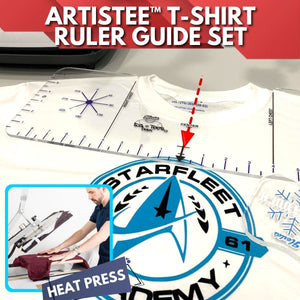 ArtisTEE™ T-Shirt Ruler Guide Set (4pcs)
