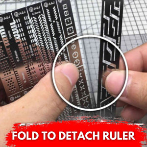 [Promo 30%] ExtraCarve Auxiliary Ruler Set (13pcs)